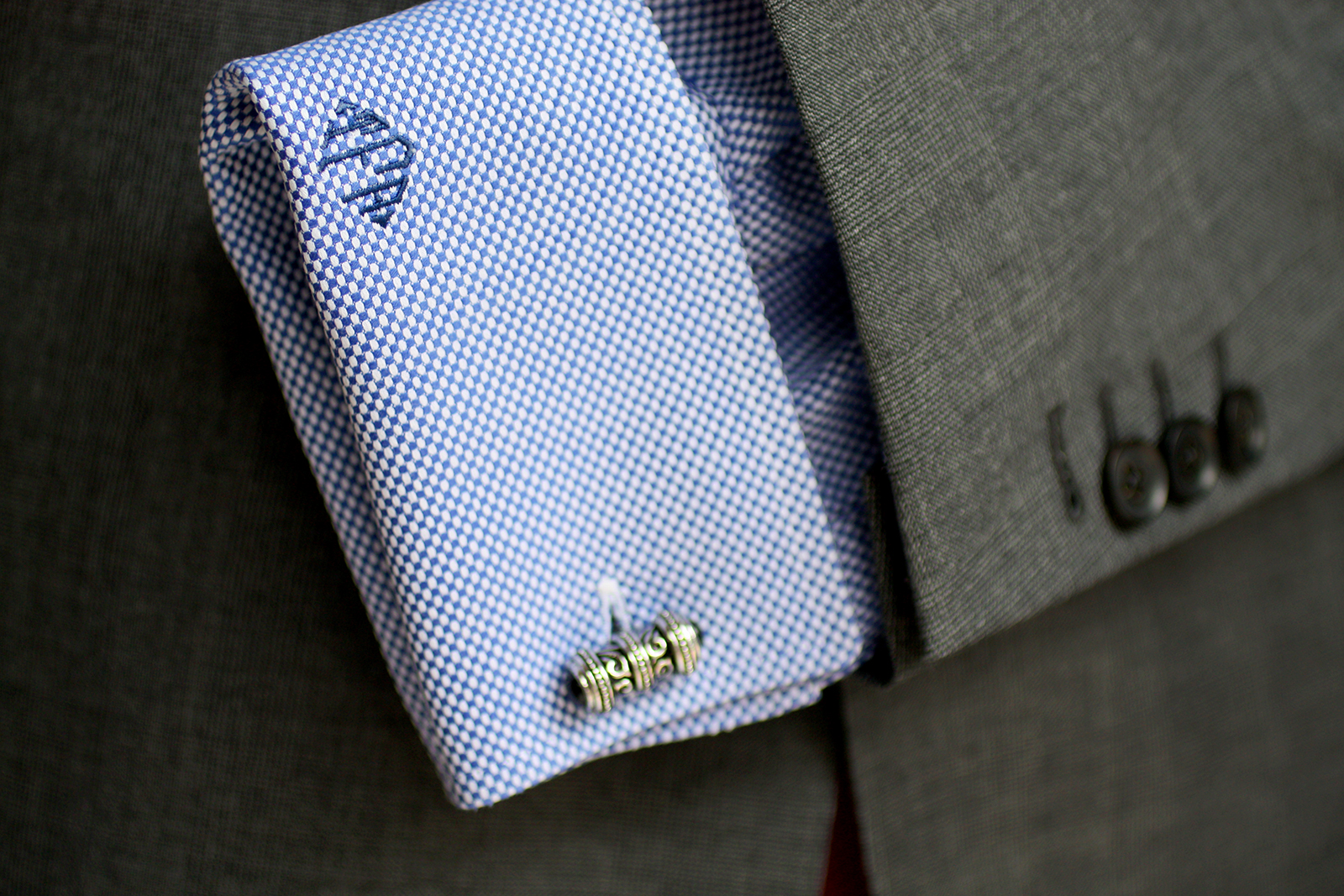 for Initials on dress shirts